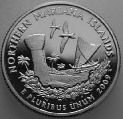 2009-S State Quarter Clad Proof N. Mariana Islands