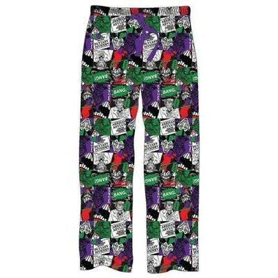 Offiziell Men's DC Comics The Joker All Over Print Lounge Pants Sizes s-XXL