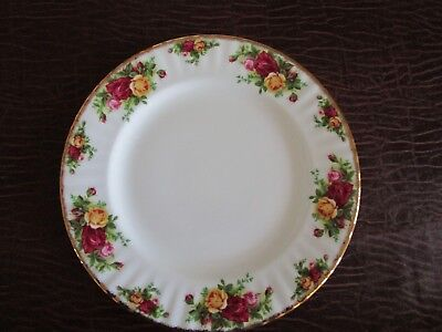 "Royal Albert OLD COUNTRY ROSES Round Dinner Plate 10.5"" 1962"