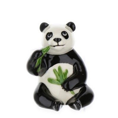 Panda Bear Miniature Figurine Wildlife Model made in USA by Hagen-Renaker