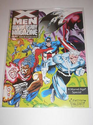 XMen Anniversary Magazine #1 VF-NM Marvel Age Sep 1993