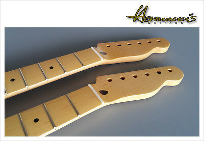 Telecaster Hals, One Piece Canadian Maple Neck, 21 Jumbo-Frets, Aged Nature