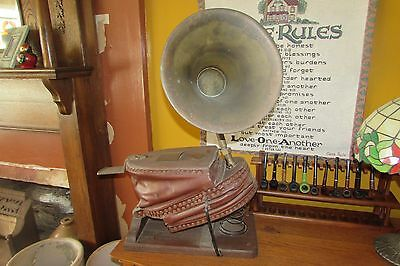 Antique 1878 Siebe Gorman & Co. LTD. Foot Bellows Firefighter Smoke Helmet #2631