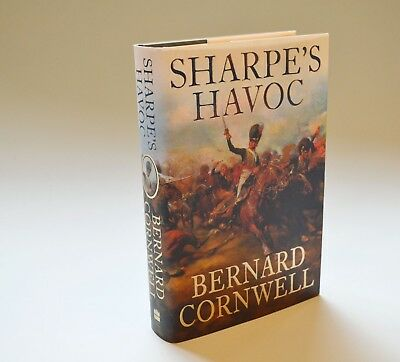 Sharpe's Havoc - Bernard Cornwell - 1st edition / first imp - excell cond