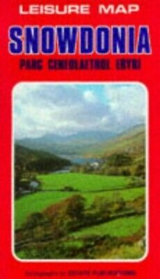 Snowdonia (Leisure Maps) Sheet map, folded Book The Cheap Fast Free Post