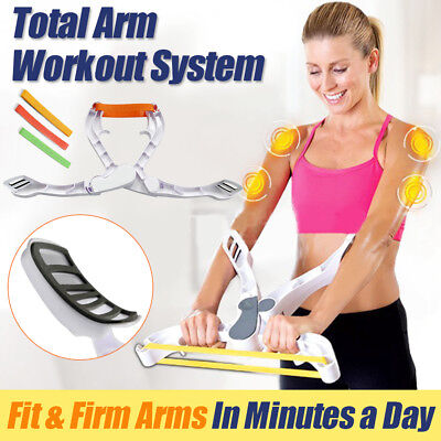 Training Wonder Arms Upper Body Arm Workout Fitness Exercise System Body Machine