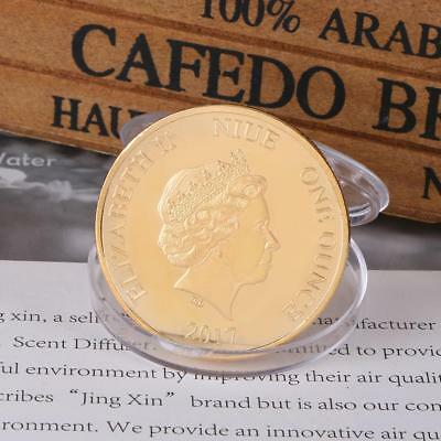 LOVE Gold Plated Souvenir Commemorative Coin Art Collection Collectible Gift