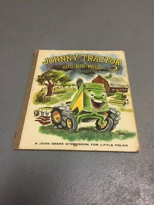 "Vintage 1958 John Deere ""Johnny Tractor and His Pals"" Children's Book  D-61-58-8"