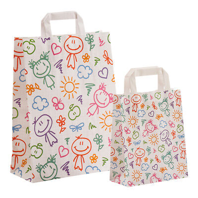 papier-tragetaschen Paper Bags Bags Paper Shopping Bag Happy