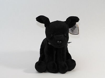 Ty Beanie Baby - Luke the Black Lab Dog - MWMT