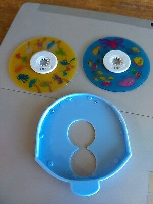 2 Homedics Replacement Discs Only For Model SS-3000 Sound Spa Lullaby~Free Ship