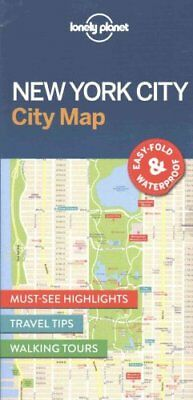 New York City Map by Lonely Planet 9781786574145 (Sheet map, folded, 2016)