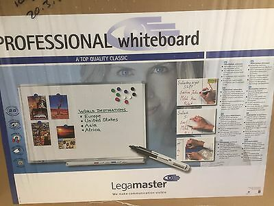 new Legamaster 600 x 900mm 60x90cm Professional Magnetic Whiteboard DryWipe