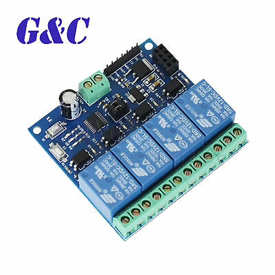 ESP8266 4CH 12V WiFi Relay Module Smart Home Mobile APP Remote Control Switch