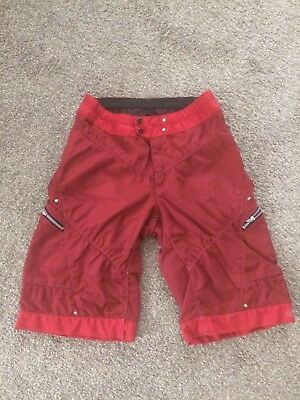 Troy Lee Designs MOTO Shorts Size 36 Red - Pre-owned