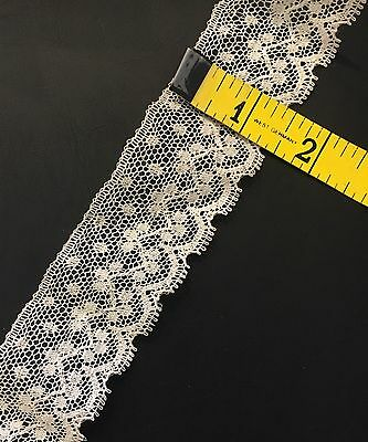 """Antique Lace Remnant Trim Edging for French  Dolls Crafts Textiles 12.5"""" DIY"""