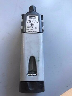 Parker G 1/2 70L/s Pneumatic Air Lubricator, -20 to +80°C, Unused.