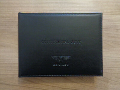 Bentley Continental GT V8 Owners Handbook/Manual