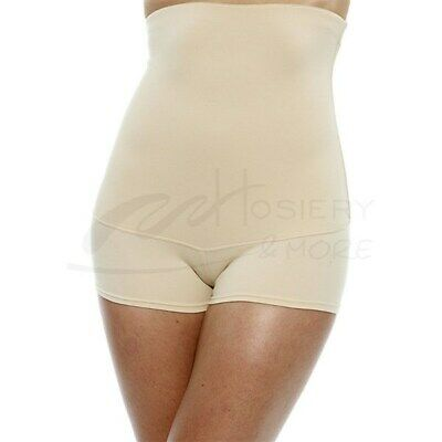 ded60216143 NEW Flexees 2XL Beige Fat Free Dressing Hi-Waist Boyshort Panty 2107  40371