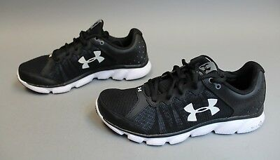 Under Armour Men's UA Micro G Assert 6 Shoes GG8 Black 1266224-001 Size 10