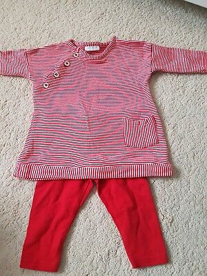 girls red NEXT outfit age upto 3months *only worn once*