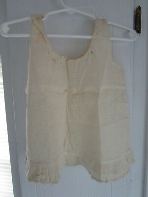 Antique Victorian Edwardian 1900 Childs Baby CLOTHES GARMENT ESTATE FIND 1