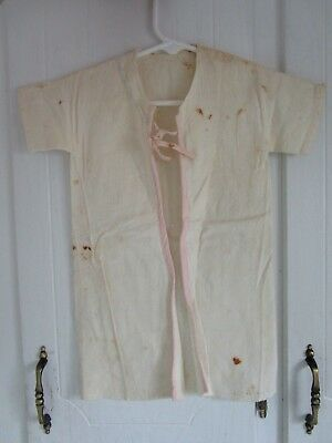 Antique Victorian Edwardian 1900 Childs Baby CLOTHES GARMENT ESTATE FIND 7