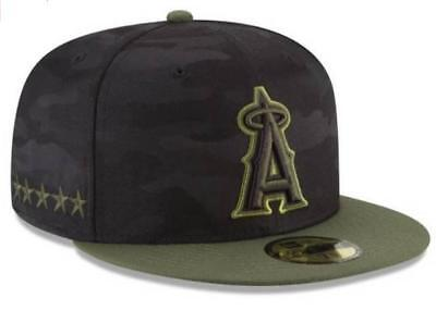 purchase cheap 7b9c3 04d27 Official MLB 2018 Los Angeles Angels Memorial Day New Era 59FIFTY Fitted Hat