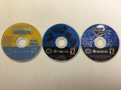 Sonic Mega Collection + Riders + Adventure Battle 2 Nintendo GameCube Disc Only