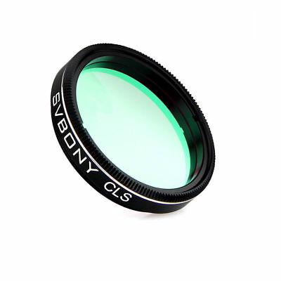 """1.25""""CLS  Light  Pollution Broadband Filters for Visual  Telescope Photography"""