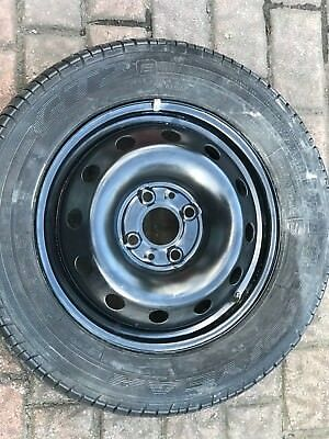 Fiat  And Ford Ka Spare Wheel And Ty