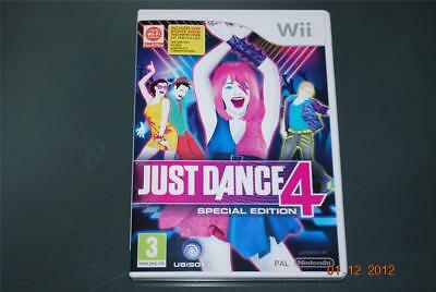 Just Dance 4 Special Edition Nintendo Wii UK PAL
