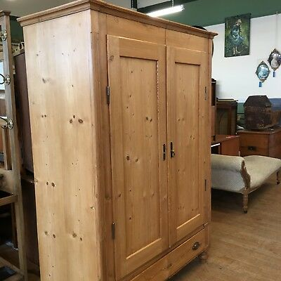Dutch Armoire Double Wardrobe With Base Drawer Beautiful Bedroom Storage !