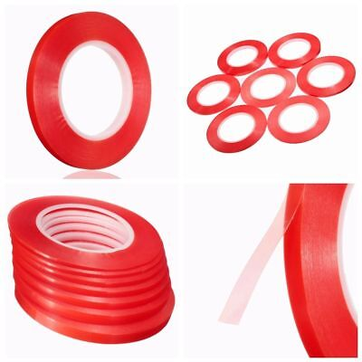 2-10mm 50M Red Adhesive Double Side Tape Strong Sticky For Cell Phone Repair