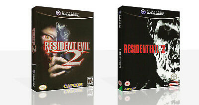 Resident Evil 2 Replacement Game Cube Spare Case + Box Art Work No Game