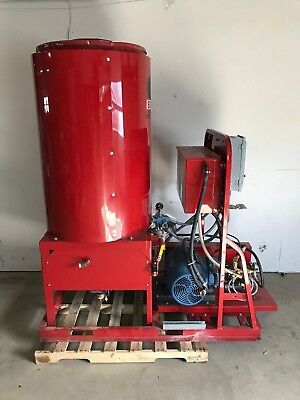 Sioux Corp. Industrial Commercial Water Heater Model H12N1500, 15 HP, 12 GPM