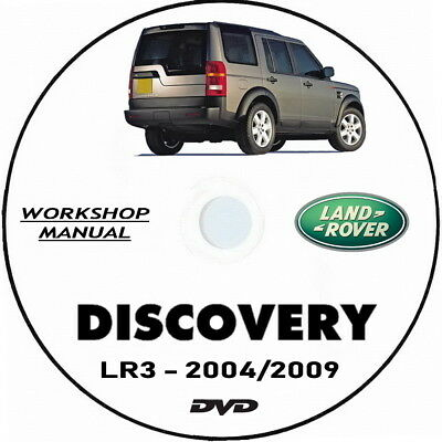 Land Rover DISCOVERY 3 (LR3) Manuale Officina (ENG) Discovery workshop manual