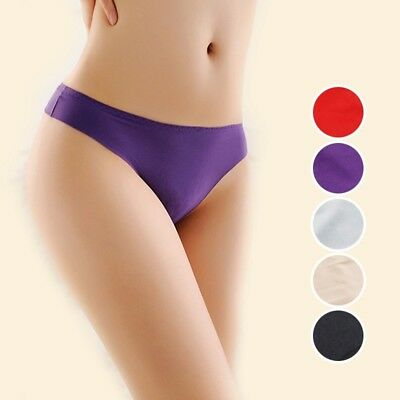 Women Tangas Sexy Panties Soft Touch T-Back Briefs Thongs Comfy Underpants