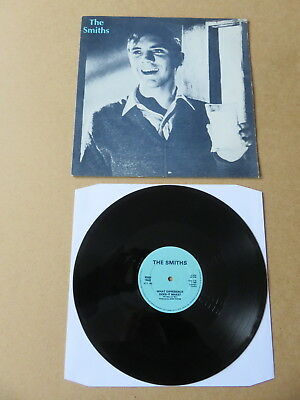 "THE SMITHS What Difference Does It Make ? ROUGH TRADE 12"" RARE PRESSING RTT146"