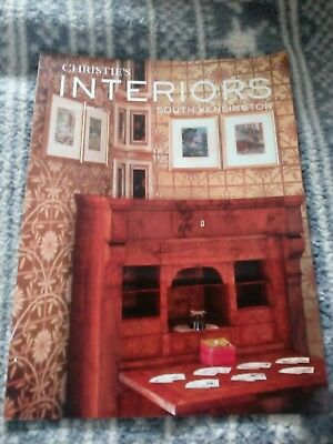 Christie's Interiors Catalogue, South Kensington July 2011