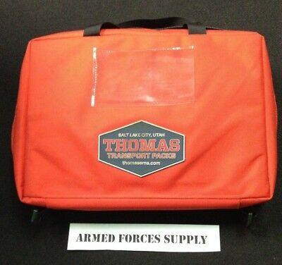 Used Thomas Transport Packs Padded Drug Case Aeromed Cordura
