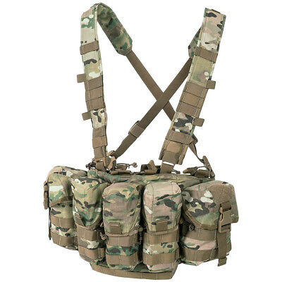 Airsoft Helikon Tex Guardian Army Chest Rig Träger Weste Vest Pencott Greenzone