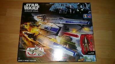 star wars rouge one nerf rebel u wing fighter NEW