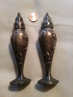 Vintage Antique Stanhome 1920s  Art Deco Salt And Pepper Shakers