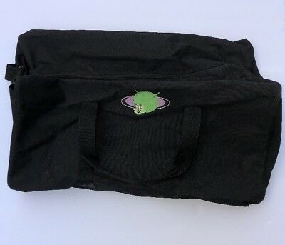 Cartoon Network The Flintstones Gazoo Black Duffle Bag Used