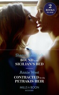 Mills & Boon modern. 2 in 1: Bound to the Sicilian's bed: Bound to the