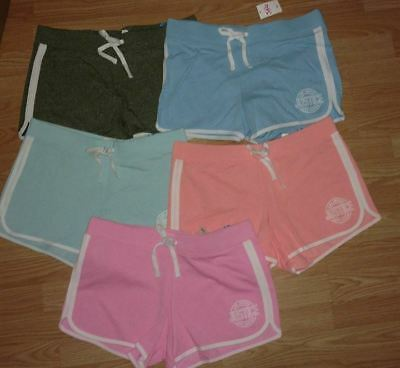 Nwt Justice Girl's Size 20 French Terry Dolphin Shorts Choose From 2 Colors