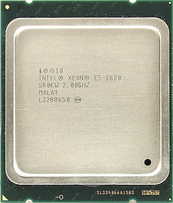 MATCHED PAIR INTEL XEON E5-2620 HEX CORE 2.0 GHz CPU SR0KW 95W 12 THREADS