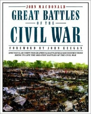 Great Battles of the Civil War by MacDonald, John Paperback Book The Cheap Fast