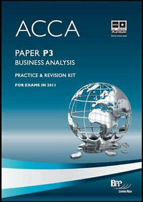 ACCA - P3 Business Analysis: Revision Kit by BPP Learning Media Book The Cheap